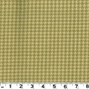 Houndstooth CL Pebble Upholstery Fabric by Roth & Tompkins