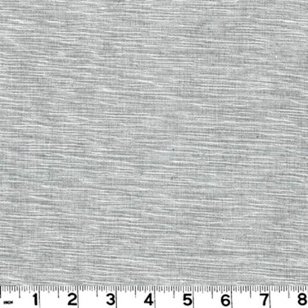Grasscloth CL Pewter Upholstery Fabric by Roth & Tompkins