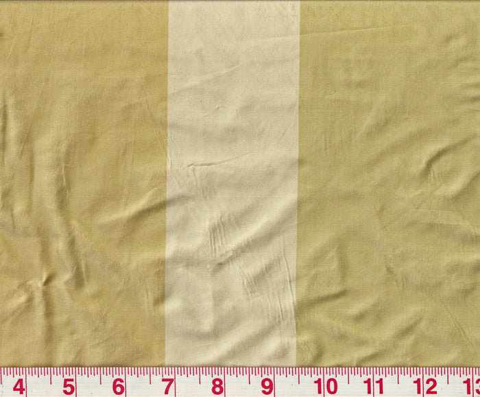 Rayure Marionett CL Jaune Drapery Fabric by Clarence House