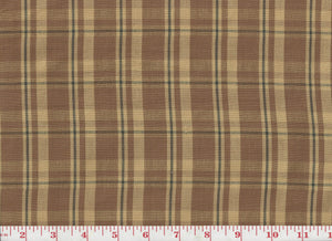 Monega Check CL Bittersweet Upholstery Fabric by Clarence House