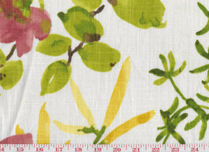 Gazebo CL Raspberry Drapery Upholstery Fabric by Braemore Textiles