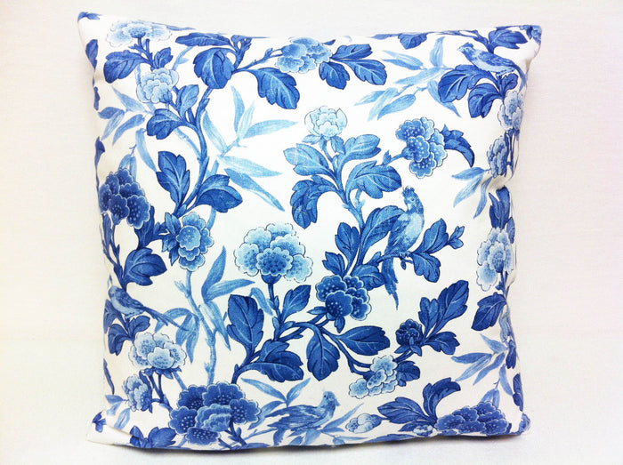 Maldive CL China Blue by Ralph Lauren Throw Pillow