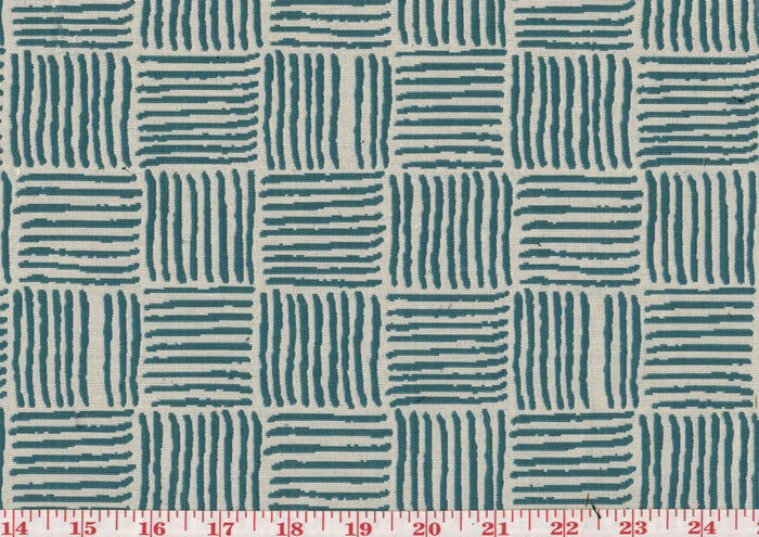 Leisure CL Teal Drapery Upholstery Fabric by Golding Fabrics