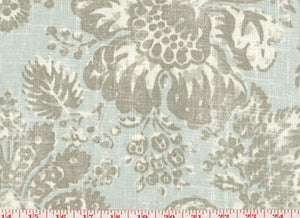 Keepsake CL Aquamarine Drapery Upholstery Fabric by Braemore Textiles