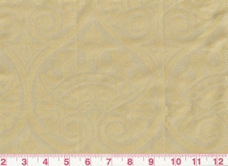 Thelonious CL Champagne 100% Silk Drapery Fabric by S. Harris