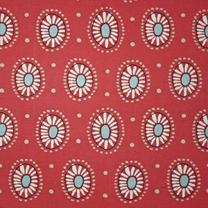 Marisol CL Dark Pink Drapery Upholstery Fabric by Clarence House