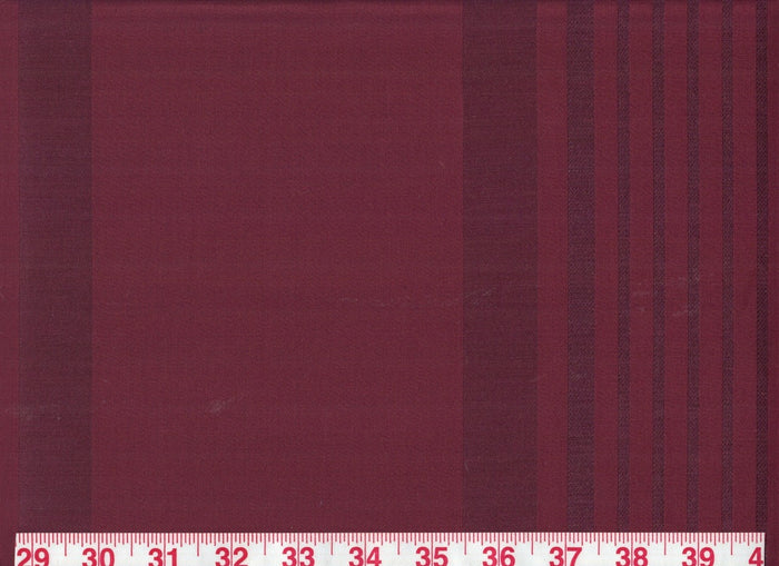 Penelope Stripe CL Rhubarb Upholstery Drapery Fabric