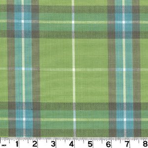 Harrison Plaid CL Spring Upholstery Fabric by Roth & Tompkins