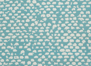 Conga CL Turquoise Indoor Outdoor Upholstery Fabric by Bella Dura