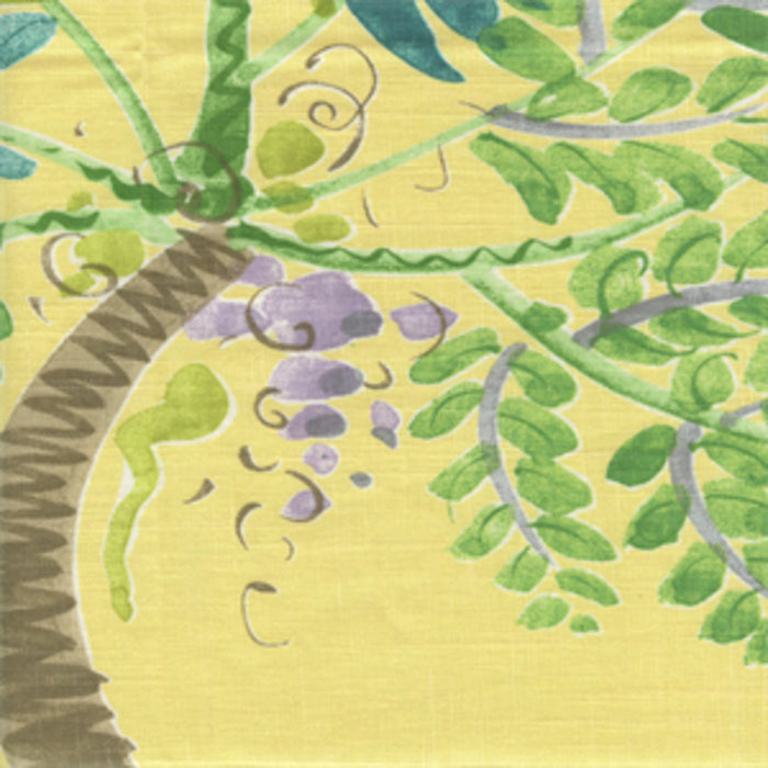 Palm Island CL Sunshine Drapery Fabric by Braemore Textiles