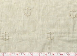 Anchors Aweigh CL Dune Sheer Drapery Fabric by Ralph Lauren