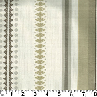 Big Top CL Sand Drapery Upholstery Fabric by Roth & Tompkins