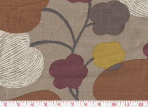 Color Me In CL Cognac Drapery Upholstery Fabric by P Kaufmann