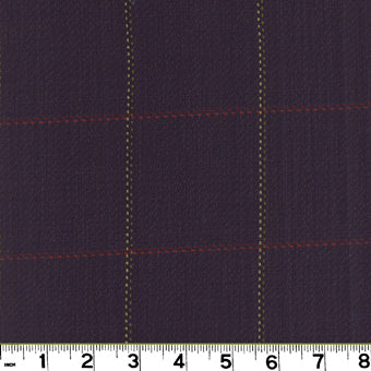Frazier CL Midnight Upholstery Fabric by Roth & Tompkins
