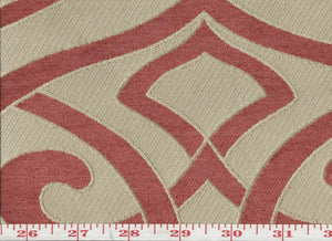 Charlotte CL Cayenne Upholstery Fabric by KasLen Textiles
