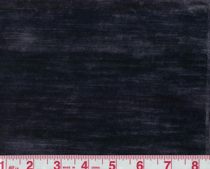 Elio Linen Velvet CL Midnight (23) Upholstery Fabric