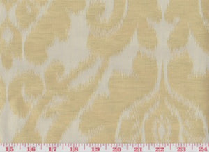 Manchuria CL Parchment Drapery Upholstery Fabric by American Silk Mills