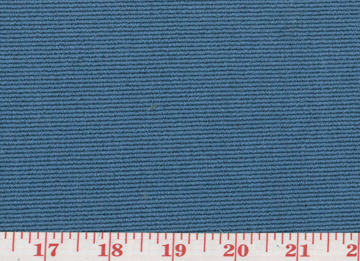 Addison CL Mid Blue Upholstery Fabric by Clarence House