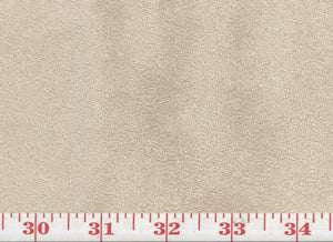 GEM  4 Suede CL Parchment Upholstery Fabric by KasLen Textiles