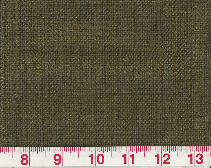 Flaxen CL Military Olive (302) Linen Upholstery Fabric