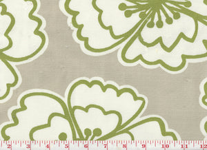 Snappy Poppy CL Apple Drapery Upholstery Fabric by  P Kaufmann