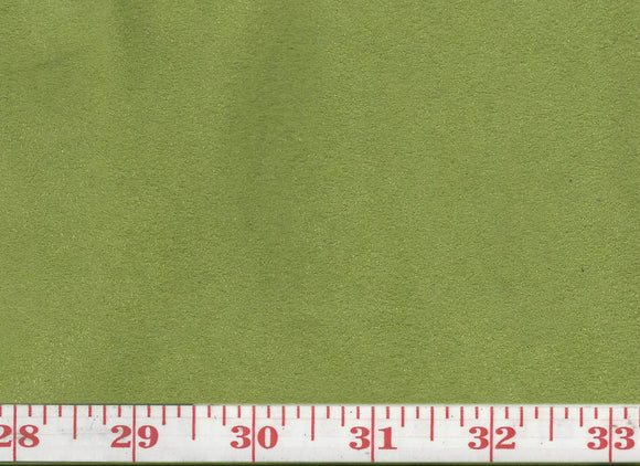 GEM 40 Suede CL Kiwi Upholstery Fabric by KasLen Textiles