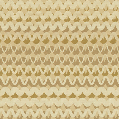 Ripple Effect Warm Sand Upholstery Fabric By Kravet