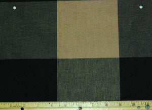 Buffalo Check CL Slate Upholstery Fabric by P Kaufmann - Close Out
