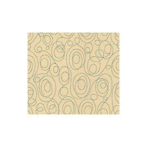 Winding Road Blue Line Upholstery Fabric by Kravet