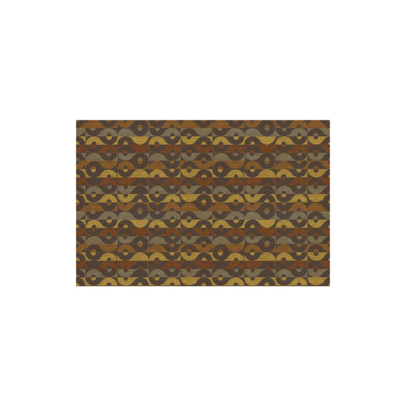 Luckey Charm Toffee Upholstery Fabric by Kravet