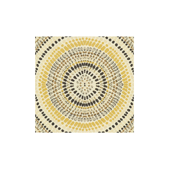 Painted Mosaic Golden Grey Upholstery Fabric by Kravet