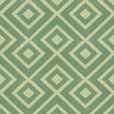 Rory's trellis Sea Green  Upholstery Fabric By Kravet