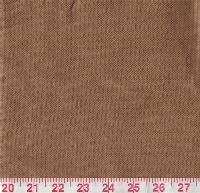 Glazed Nice CL Pecan Upholstery Fabric by Clarence House