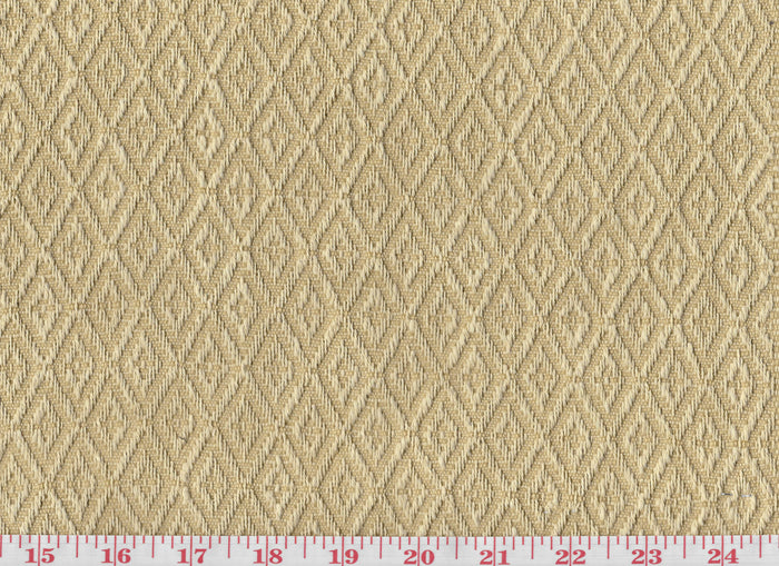 Ascott Diamond CL Straw Upholstery Fabric by Clarence House