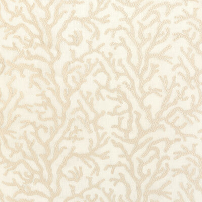 Sheer Reef Ecru Upholstery Fabric By Kravet
