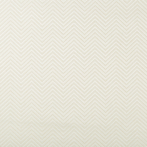 Saumur-Chevron-Ivory Upholstery Fabric by Kravet