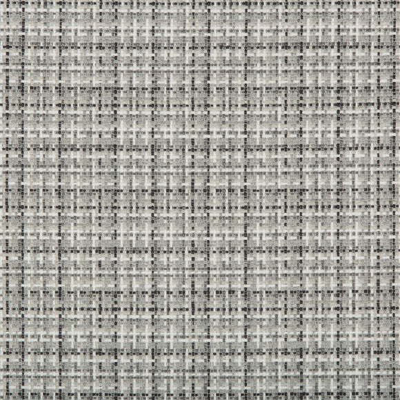 Checkerton Graphite Upholstery Fabric By Kravet