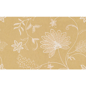 Hand Embroidery Saffron Upholstery Fabric by Kravet