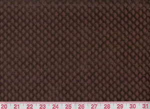 Grand Cru CL Brown Velvet Upholstery Fabric by Clarence House