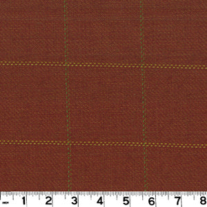 Frazier CL Terra Cotta Upholstery Fabric by Roth & Tompkins