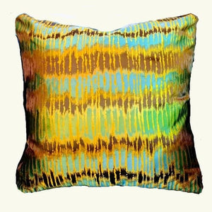 Rain Forest CL Jungle Leaf  Silk Lampas  Pillow Cover