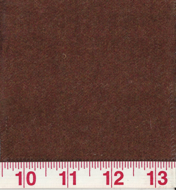 Worth CL Russet Wool Upholstery Fabric