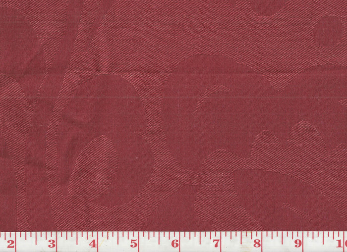 Charlotte CL Red Upholstery Fabric by Clarence House