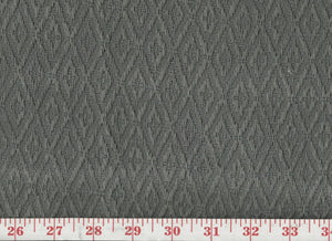 Ascott Diamond CL Grey Upholstery Fabric by Clarence House
