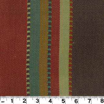 Apache CL Brick Upholstery Fabric by Roth & Tompkins