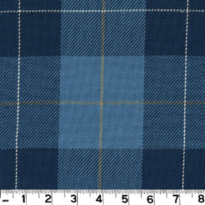 Hempstead CL Cobalt Upholstery Fabric by Roth & Tompkins