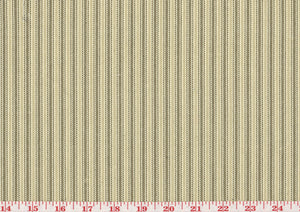 Opus Ticking Stripe CL Dove Drapery Upholstery Fabric by Golding Fabrics