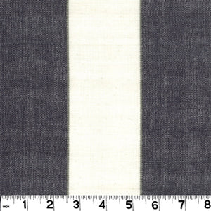 Meriden CL Black Drapery Upholstery Fabric by Roth & Tompkins