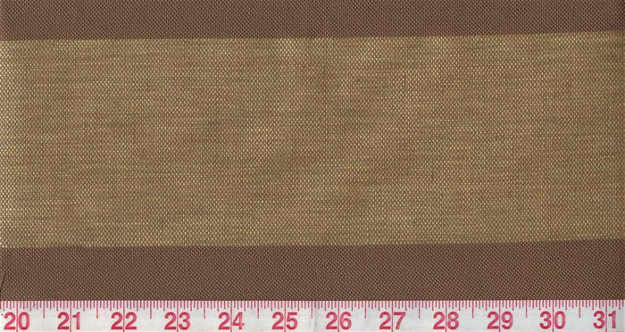 Guiliana CL Brown Drapery Fabric by Clarence House