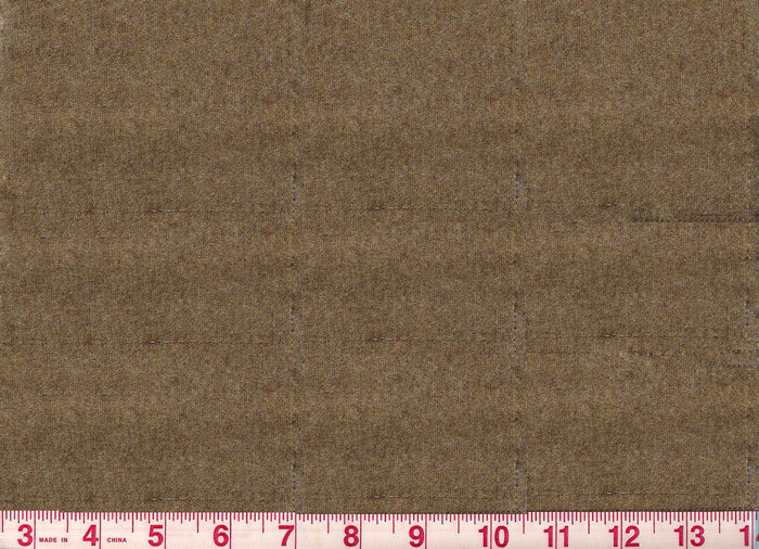Worth CL Canvas Brown Wool Upholstery Fabric